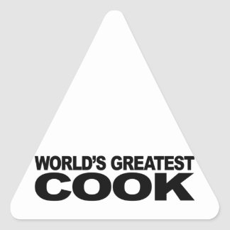 World's Greatest Cook Stickers