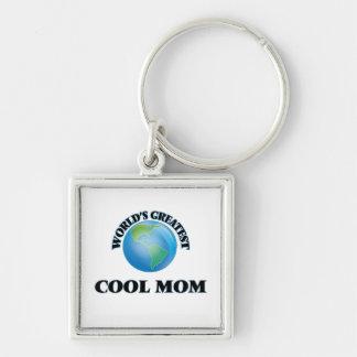 World's Greatest Cool Mom Key Chain