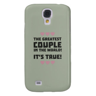 Worlds greatest couple Z8r93 Galaxy S4 Cover
