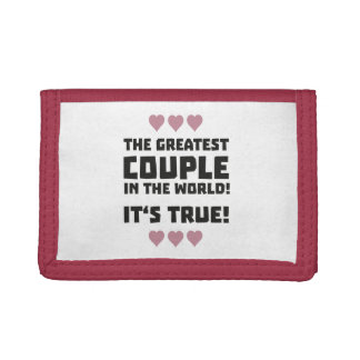 Worlds greatest couple Z8r93 Tri-fold Wallet