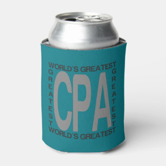 Worlds Greatest CPA Can Cooler