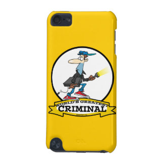WORLDS GREATEST CRIMINAL MEN CARTOON iPod TOUCH 5G COVER