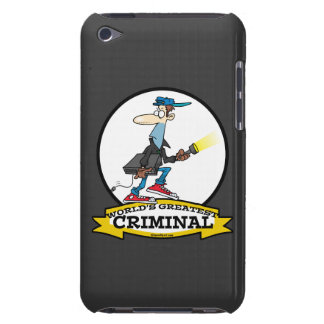 WORLDS GREATEST CRIMINAL MEN CARTOON BARELY THERE iPod COVER