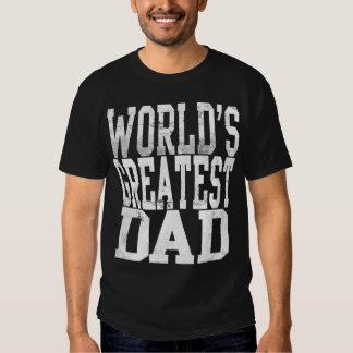 World's Greatest Dad, Big Block Letters Dark Shirt