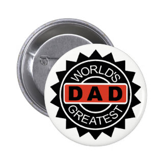 World's Greatest Dad Button | Mini Brothers