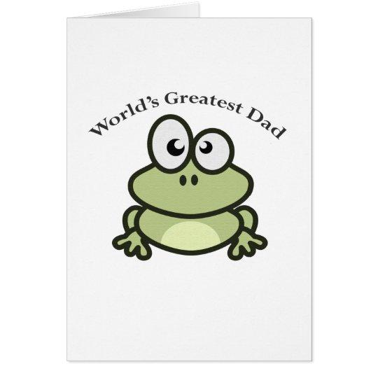 World's Greatest Dad Card
