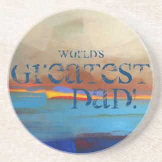 World's Greatest Dad! Coasters