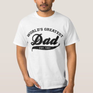 World's Greatest Dad, EST. 199? T-Shirt