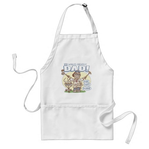 World's Greatest Dad Father's Day BBQ Gear Apron