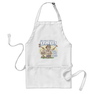 World's Greatest Dad Father's Day BBQ Gear Standard Apron