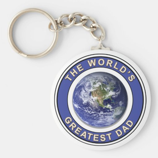 Worlds greatest Dad Key Chains