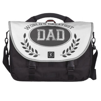 Worlds Greatest Dad Laptop Computer Bag
