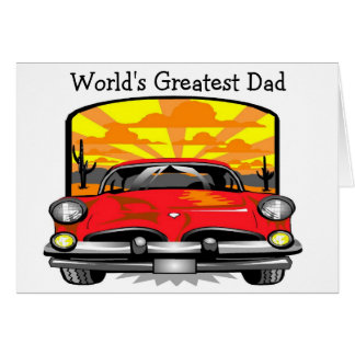 World's Greatest Dad - Note Card