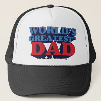 World's Greatest* Dad Trucker Hat