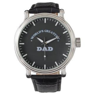 World's Greatest Dad Wristwatch