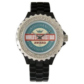 World's Greatest Dad Wristwatches