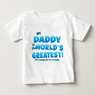 Worlds Greatest Daddy blue T-shirt