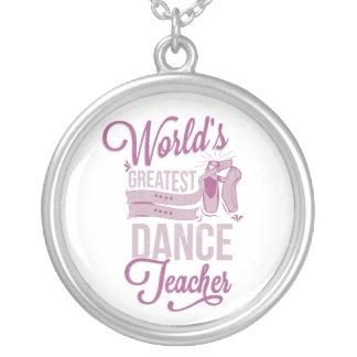 World's Greatest Dance Teacher Necklace