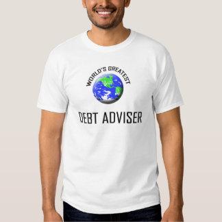 World's Greatest Debt Adviser Tee Shirts