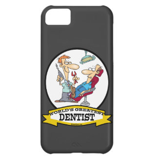WORLDS GREATEST DENTIST MEN CARTOON iPhone 5C CASE