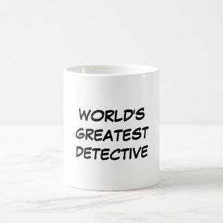 """World's Greatest Detective"" Mug"
