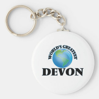 World's Greatest Devon Key Chains