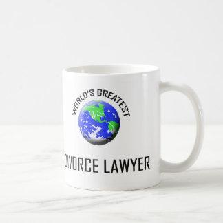 World's Greatest Divorce Lawyer Basic White Mug