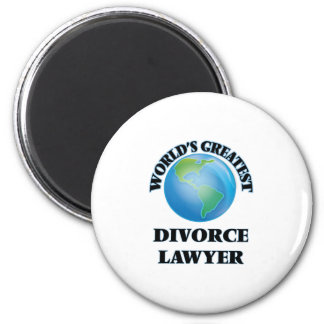World's Greatest Divorce Lawyer Magnet