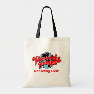 World's Greatest Docketing Clerk