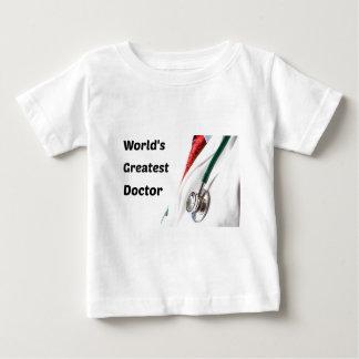 World's Greatest Doctor Design Baby T-Shirt
