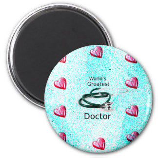 World's Greatest Doctor Professions Collection Magnet