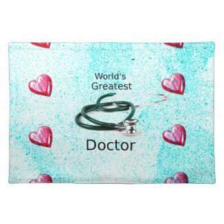 World's Greatest Doctor Professions Collection Placemat