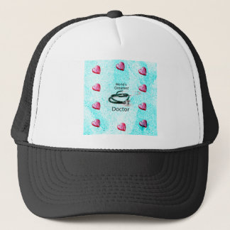 World's Greatest Doctor Professions Collection Trucker Hat