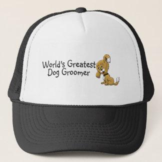 Worlds Greatest Dog Groomer Trucker Hat