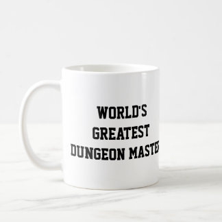 World's Greatest Dungeon Master Coffee Mug