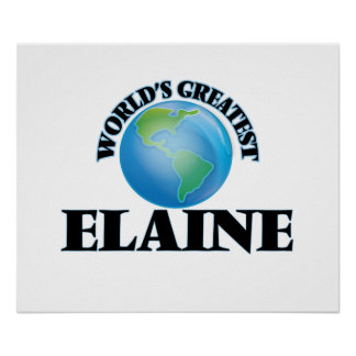 World's Greatest Elaine Posters