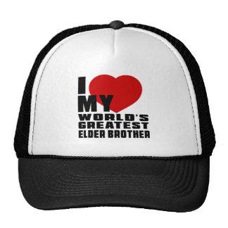 WORLD'S GREATEST ELDER BROTHER CAP