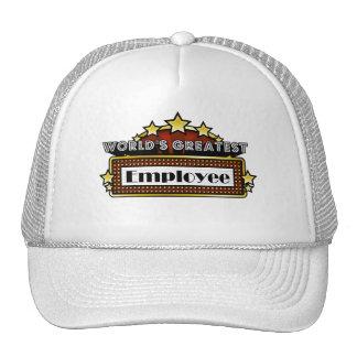 World's Greatest Employee Hat