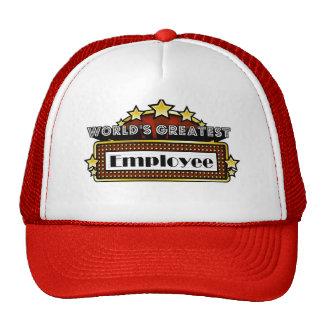World's Greatest Employee Trucker Hats