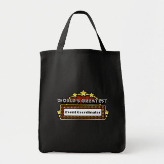 World's Greatest Event Coordinator Grocery Tote Bag