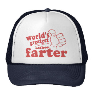 World's Greatest Farter Cap