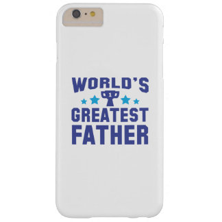 World's Greatest Father Barely There iPhone 6 Plus Case
