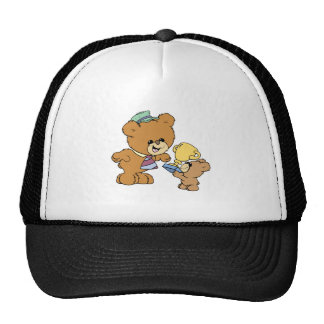 worlds greatest father cute teddy bears design cap