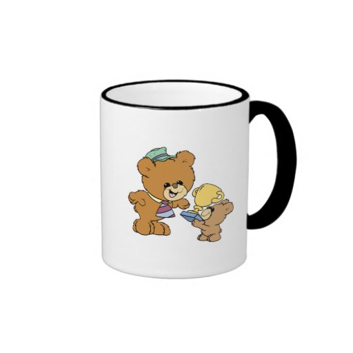 worlds greatest father cute teddy bears design mug