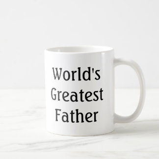 World's Greatest Father (In Law) Coffee Mug