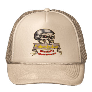World's Greatest Father-in-law Father's Day Gift Trucker Hat