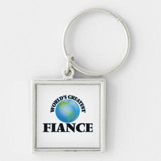 World's Greatest Fiance Keychains