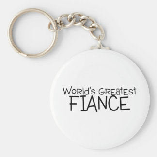 Worlds Greatest Fiance Key Chain