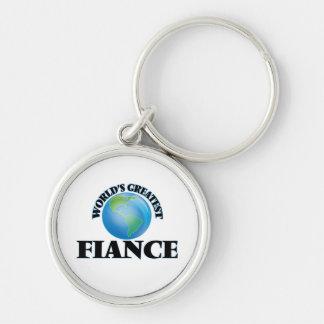 World's Greatest Fiance Keychain