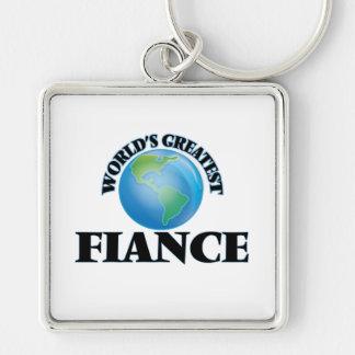 World's Greatest Fiance Key Chains